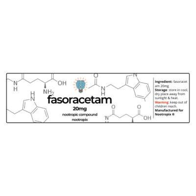 Fasoracetam 20mg Label| Nootropics Dubai,UAE