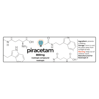 Piracetam 800mg Label | Nootropics Dubai,